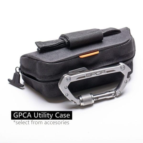 gpca carabiner utility case accessories
