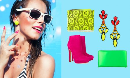 samples of neon fashion