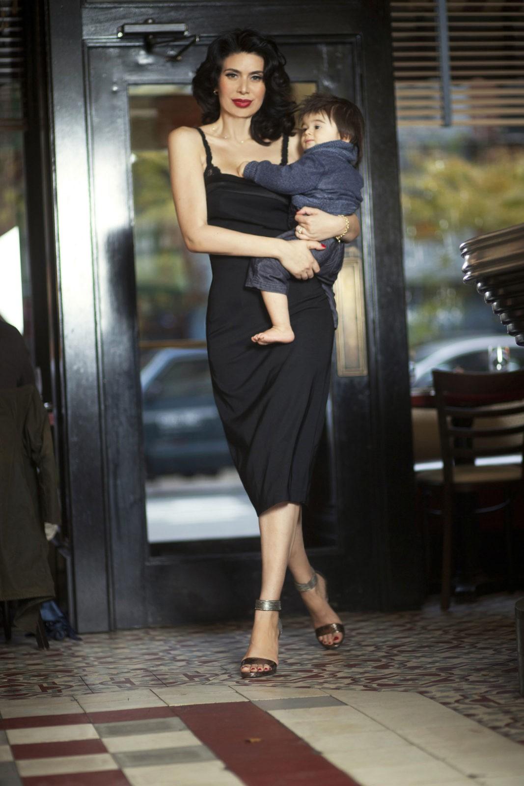 NA 6 with son by VictoriaJanashvili