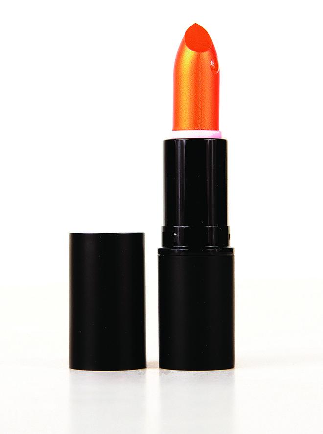 Orange Flare lipstick by Whiplash Cosmetics