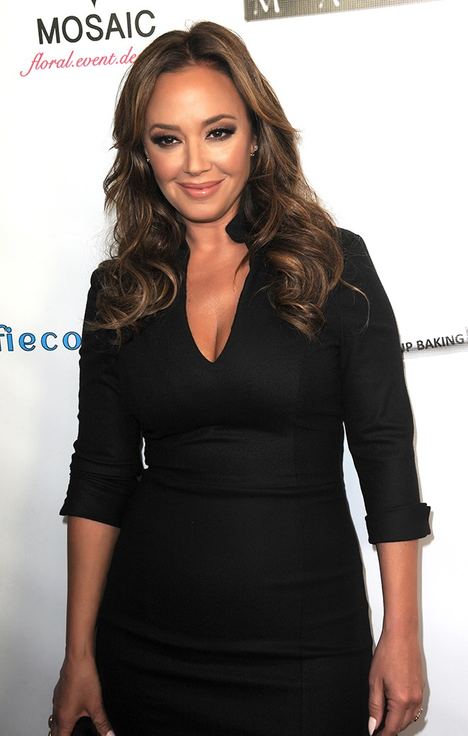 Leah Remini arrives at Riviera 31  (Photo by Albert L. Ortega/Getty Images)