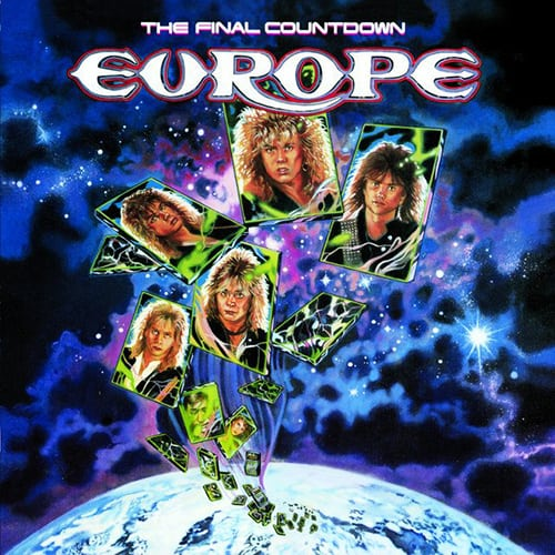 Rock and roll band europe