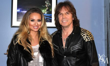 Joey Tempest band Europe and Katarina Van Derham