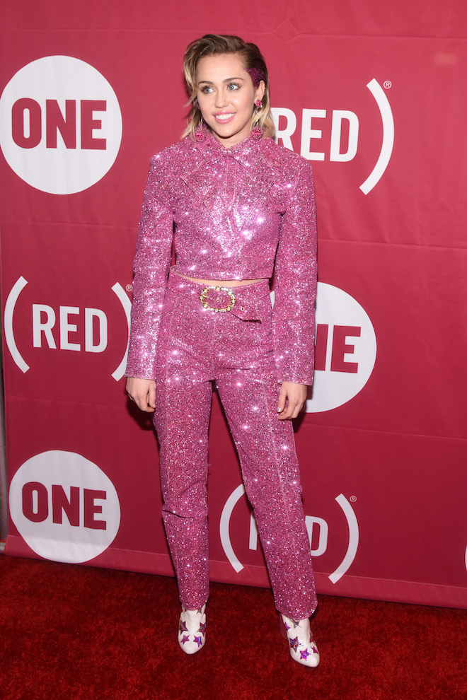 miley-9.jpgWorld AIDS Day And Celebrate 10 Years Of Progress With Concert At Carnegie Hall In New York