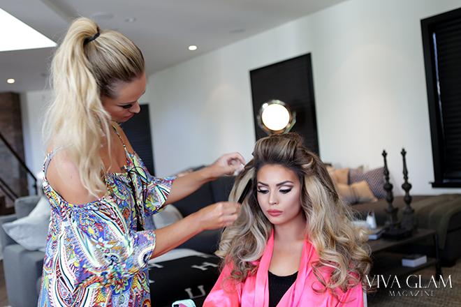 Jade Marie JadeyWadey180 viva glam magazine beauty makeup tutoria katarina van derham kat lash
