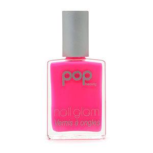 pop beauty nail glam nail polish in pinky, viva glam magazine, spring beauty