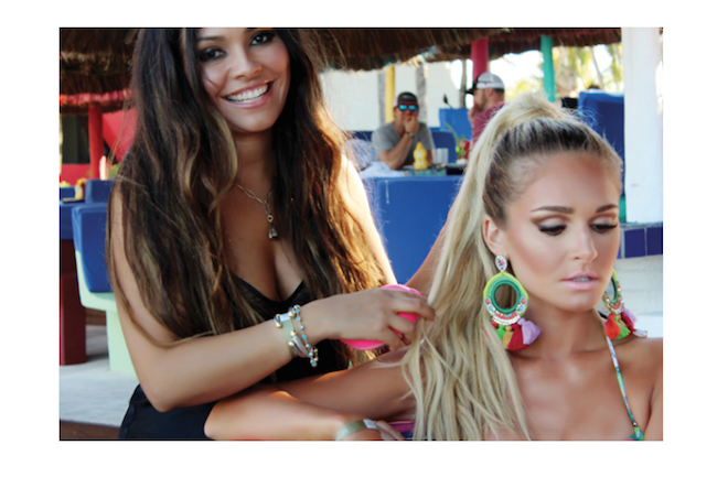 Hairstylist to the Stars Angelica Curiel Talks Beach Beauty viva glam magazine beauty