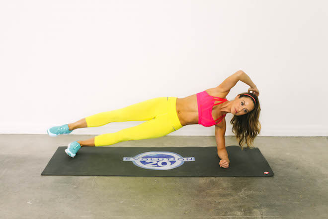 Stay Toned While Traveling The 20 Minute Hotel Room Workout-viva glam magazine-christine bullock-fitness-travel-Side Plank Trio 12
