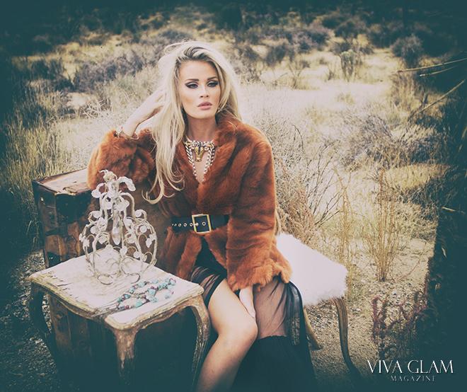VIVA GLAM MAGAZINE LIV JAEGER Glamarella Couture Cashmere Hair Farnsworth viva glam supermodel. western couture makeup katarina van derham