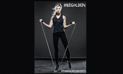 jesse golden working out viva glam magazine supermodel wellness