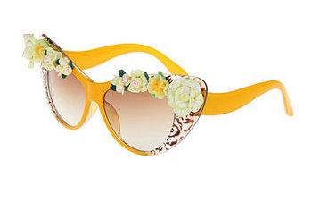 national sunglasses day viva glam magazine -cat eye flower fashion womens