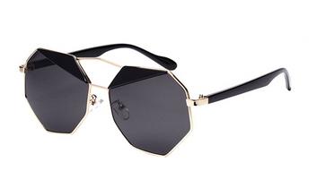 national sunglasses day viva glam magazine -reflective sleek polygon oversized