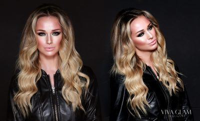 Katarina Van Derham makeup draping
