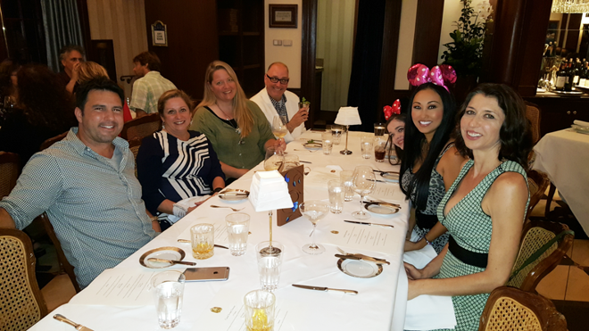 Disney Club 33 Candace Kita dinner party Abigail Disney