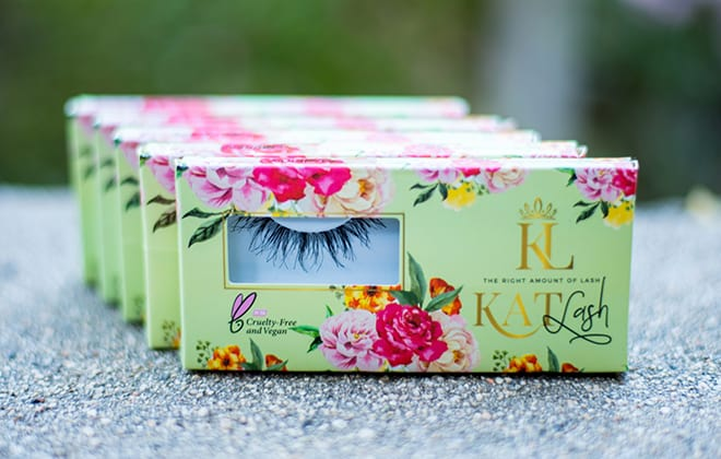A set of Kat lash by Glamour Garden Cosmetics