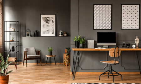 home-office-grey-walls-clean-home