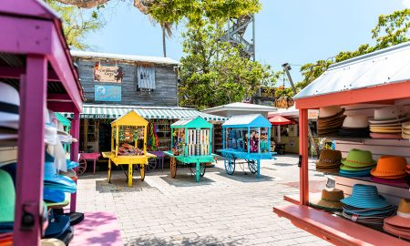 colorful homes in key west
