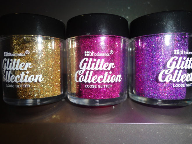 bh cosmetics glitter collection