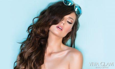 Top 20 Sexiest-2017-Marketa-Kazdova-VIVA-GLAM-MAGAZINE-blue-wall-Feature, Photographer Deja Jordan Makeup Hair Katarina Van Derham