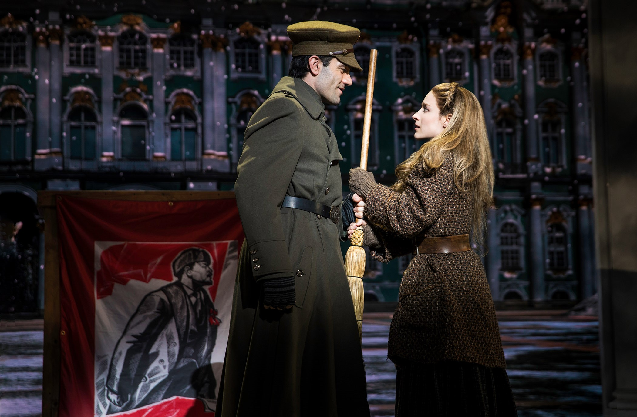 [0185]_Ramin Karimloo, Christy Altomare in ANASTASIA on Broadway, Photo by Matthew Murphy, 2017
