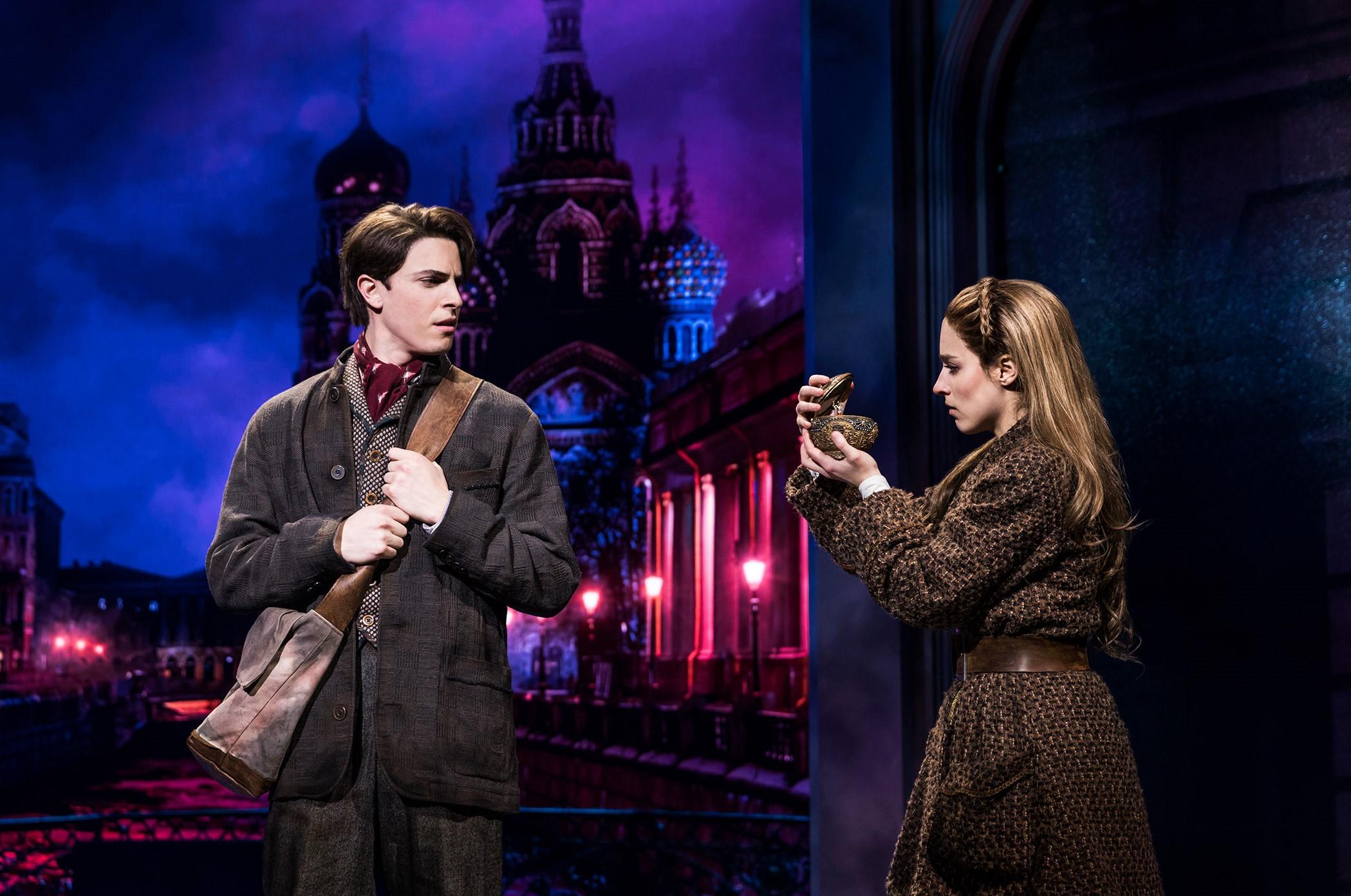 [0668]_Derek Klena, Christy Altomare in ANASTASIA on Broadway, Photo by Matthew Murphy, 2017