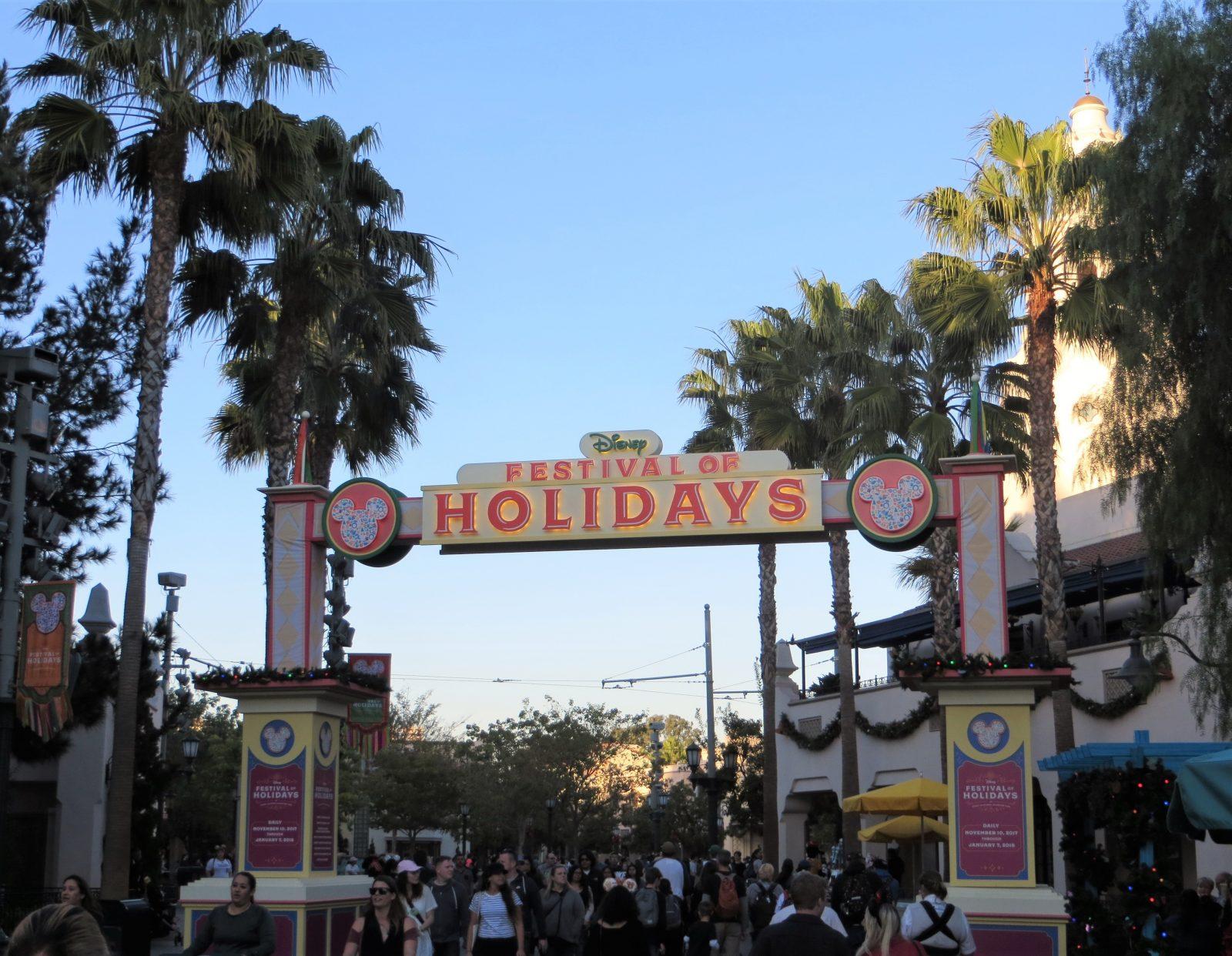 Visiting as a Vegan-Vegetarian at Disney's Festival of Holidays