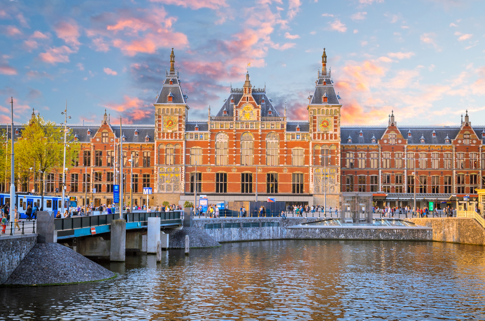 Amsterdam Centraal Train Station
