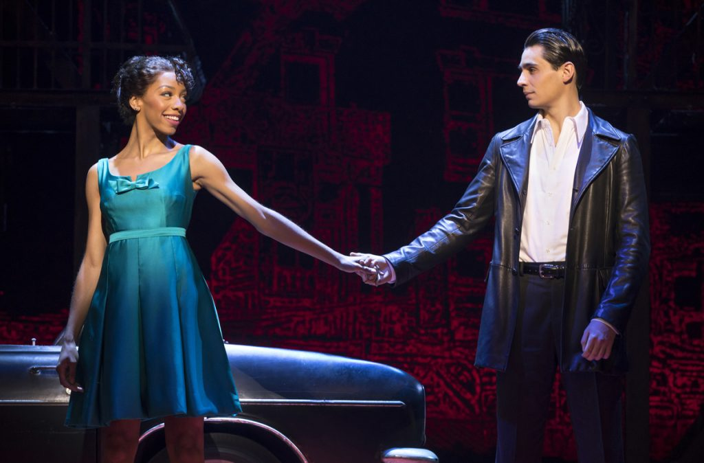 Christiani-Pitts-as-Jane-and-Bobby-Conte-Thornton-as-Calogero-in-A-Bronx-Tale.-joan-marcus-1024×674