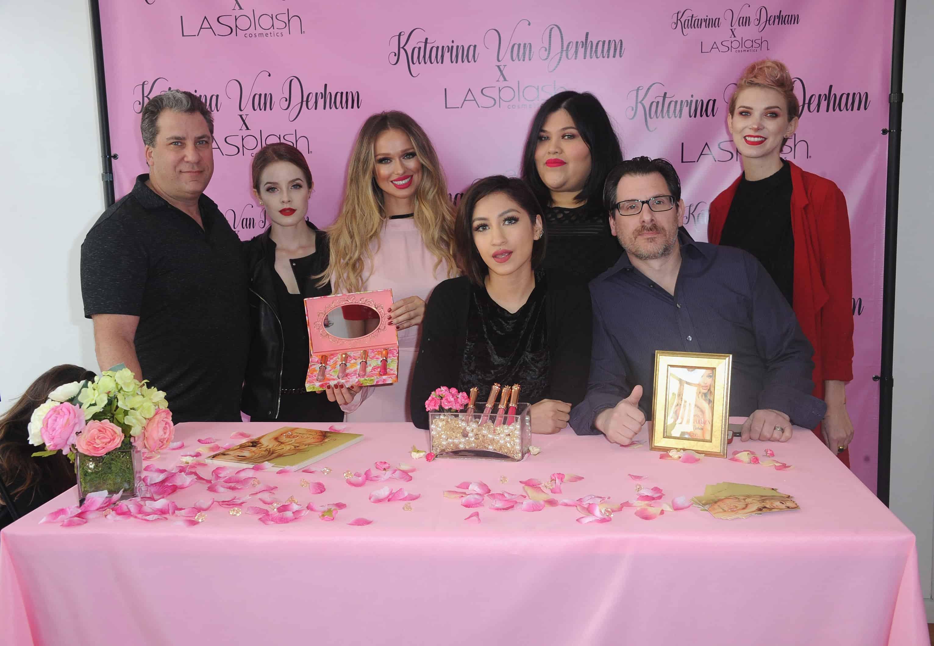 Meet And Greet For Katarina Van Derham's New Lipstick Launch