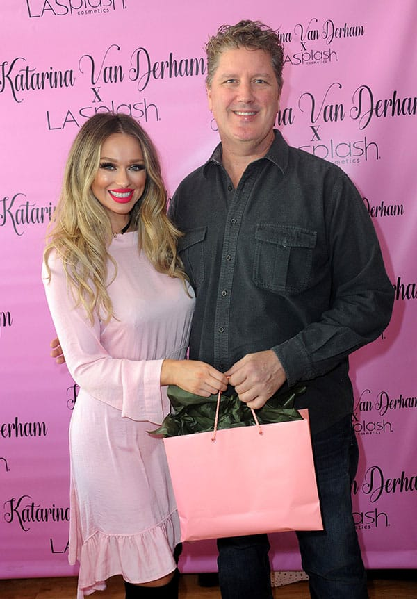 Meet And Greet For Katarina Van Derham's New Lipstick Launch with Dave Blass