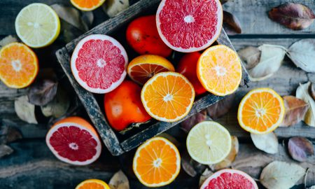 grapefruit, orange, citrus, fruit, vegan