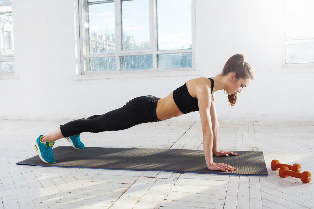 12 Exercises for Perkier Breasts – push-ups