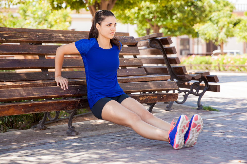 12 Exercises for Perkier Breasts – tricep dip