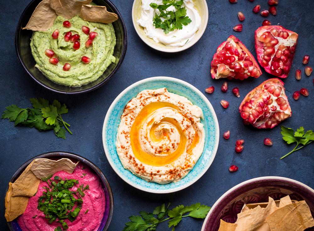 hummus, dips, israeli food, mediterranean food