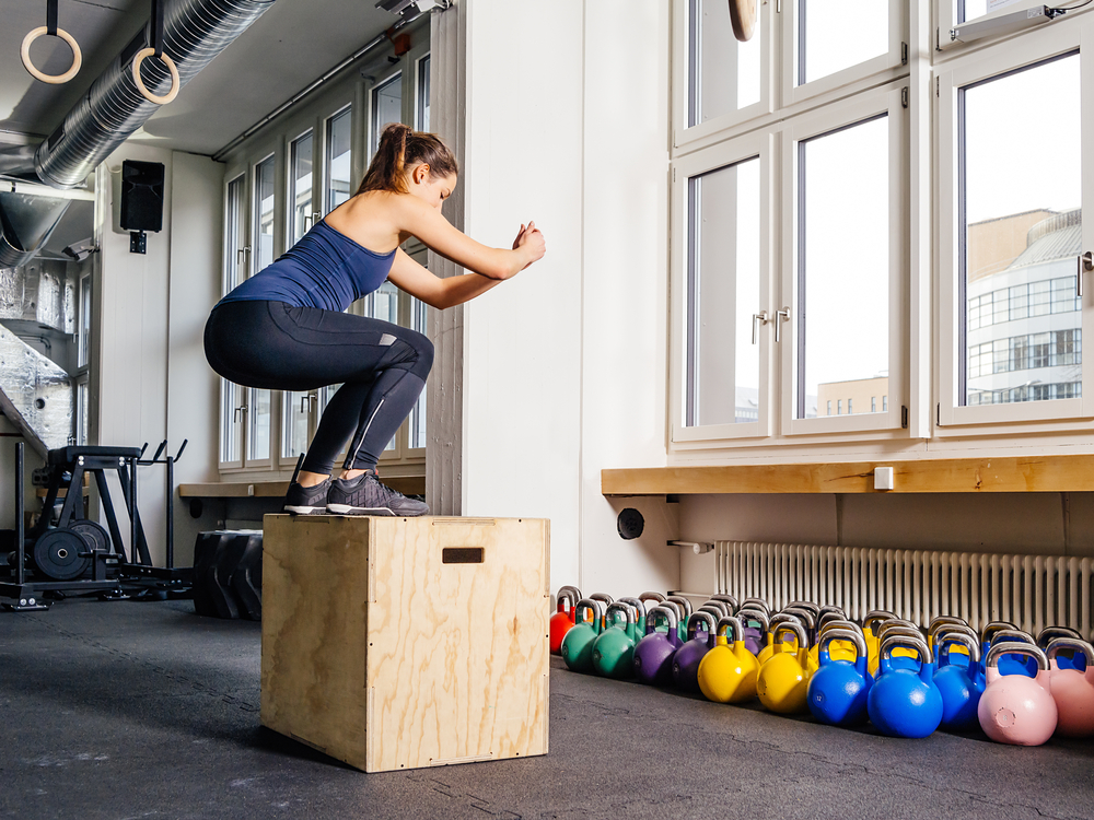 The Best Exercises to Get a Perky Butt – box jumps
