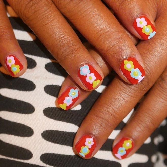 15 Nail Trends You Need to Sport This Summer flowers