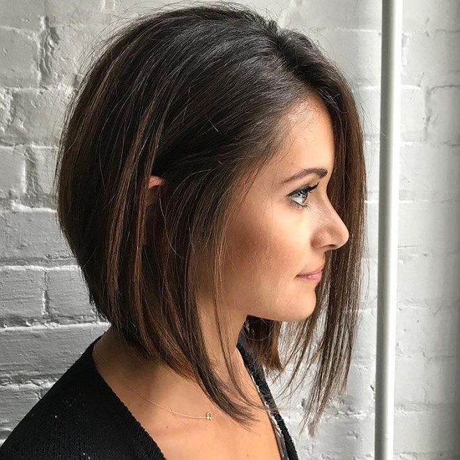 15 Trending Hairstyles for Summer 2018 sleek bob