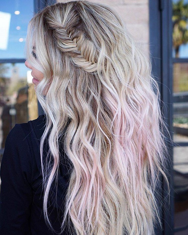 15 Trending Hairstyles for Summer 2018 side braid