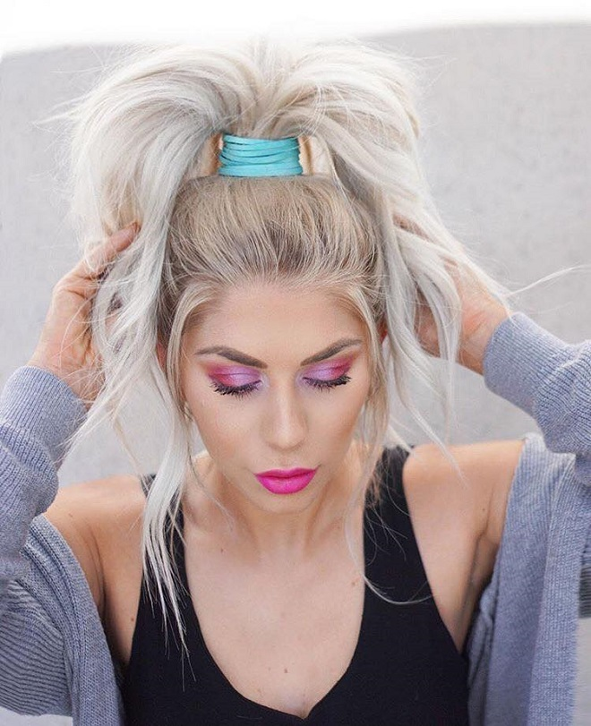 15 Trending Hairstyles for Summer 2018 high pony