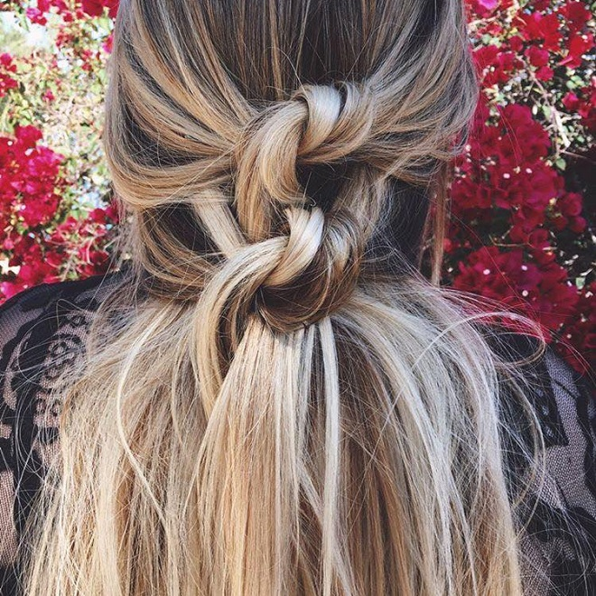 15 Trending Hairstyles for Summer 2018 double know pony