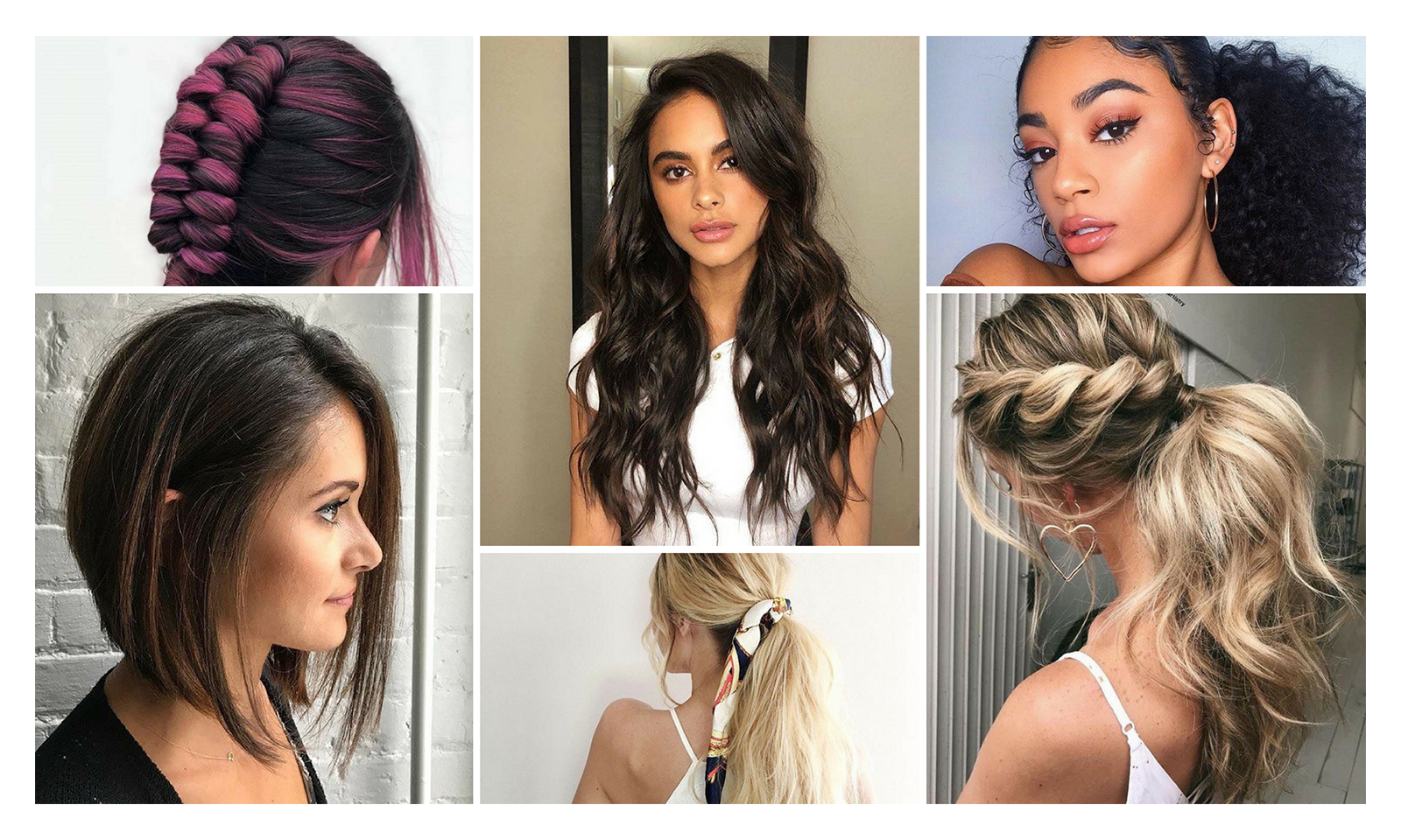 15 Trending Hairstyles for Summer 2018