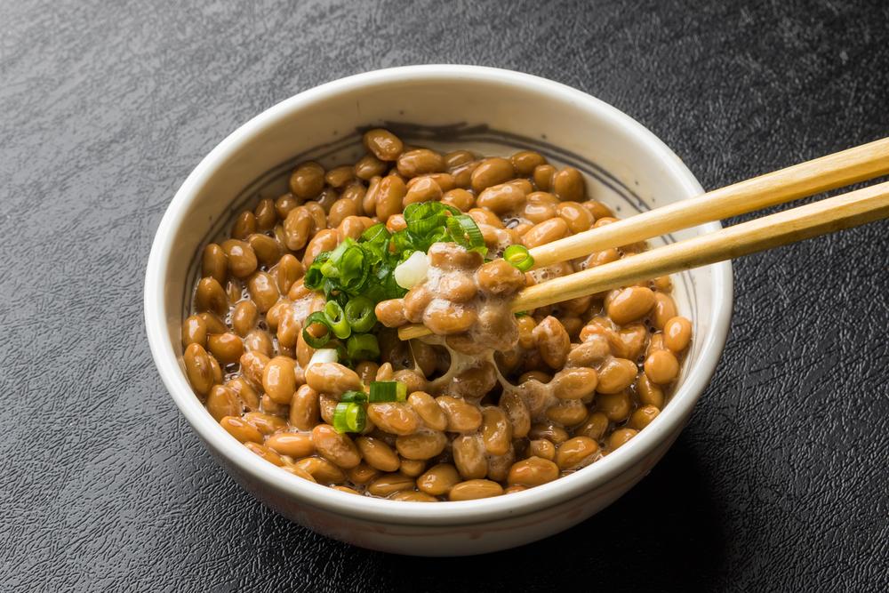 natto, soybean