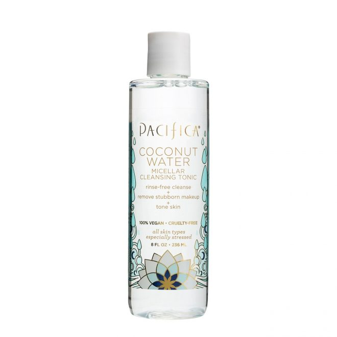 20 Best Summer Makeup Buys All Under $30 Pacifica Coconut Micellar Water Cleansing Tonic