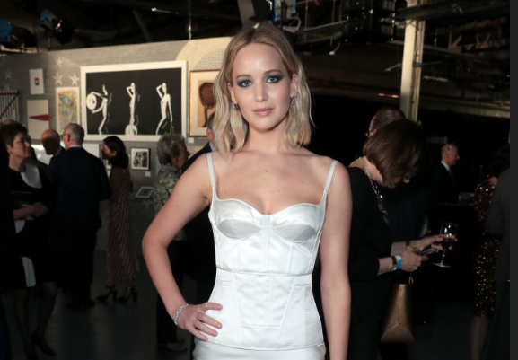 Jennifer Lawrence Wore a Sexy Dress To Present Her Ex with an Award
