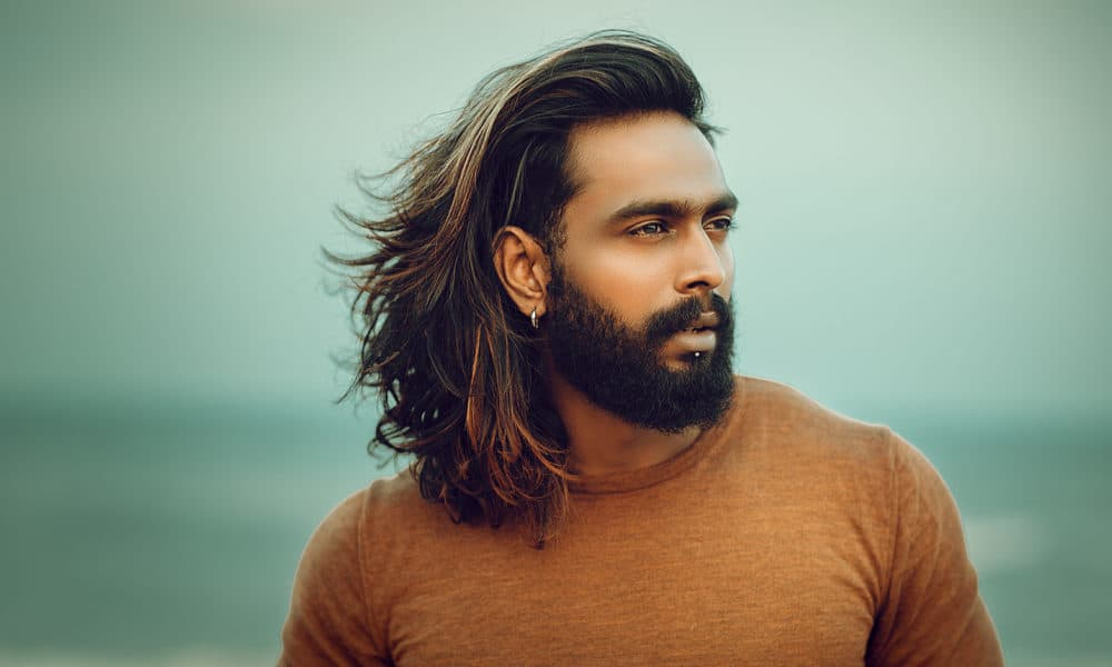 I good long hair look guy with will How To