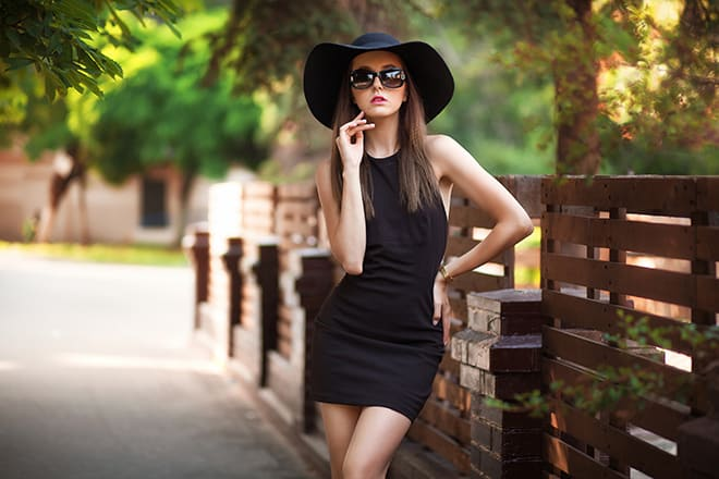 how-to-style-your-little-black-dress-with-hat