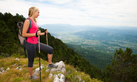 girl-hiking-workout-beautiful-view