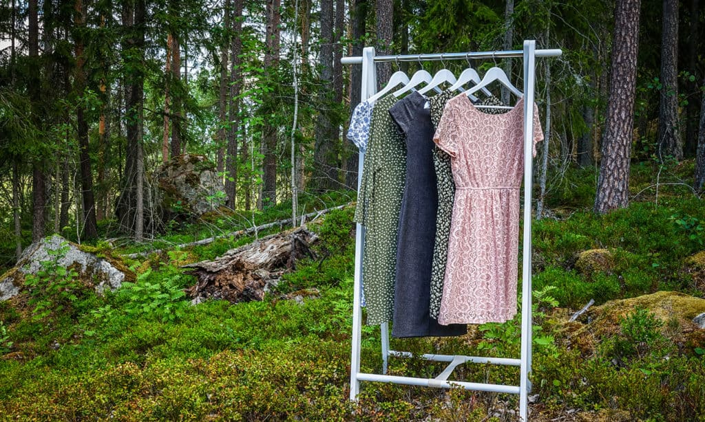 How-To-Shop-For-Ethical-Fashion-On-A-Budget-clothes-hanging-in-nature