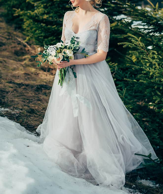 How-to-Pick-Your-Bridal-Gown-for-a-Summer-Wedding-chiffon-dress
