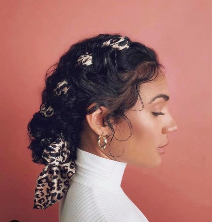 Stunning Curly Braided Hairstyles to Wear All Summer Long 3